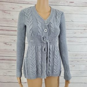 Anthropologie If We Were Me Cardigan Size M